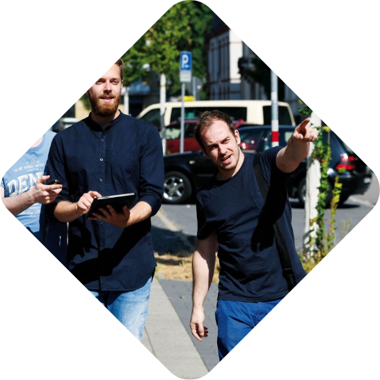 Fall Bergmann Exit Game - Gruppe sucht in Karlsruhe