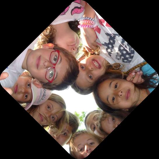 Operation Fuchsjagd Kids schauen in Kamera
