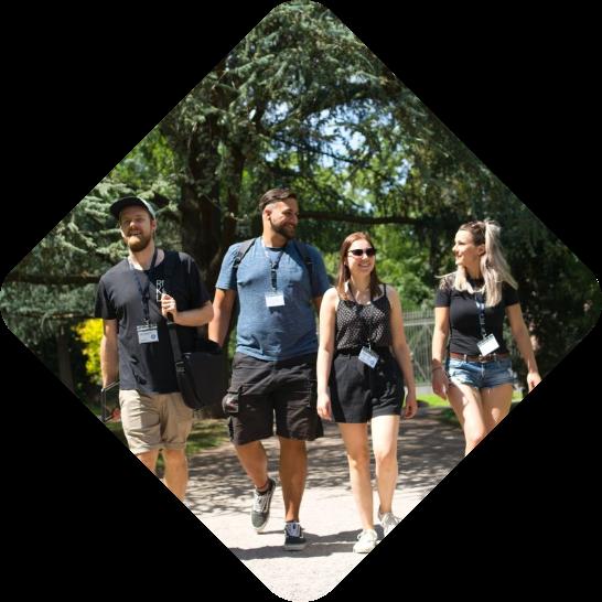 City Explorer Team läuft