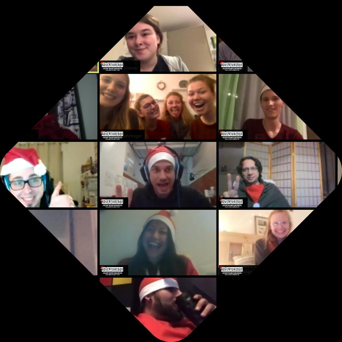 Digitale Weihnachtsfeier