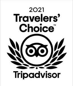 Travelers Choice 2021 von Tripadvisor