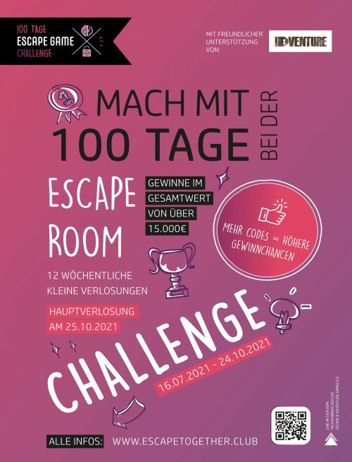 100 Tage Escape Room Challenge